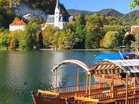 Jezioro Bled puzzle