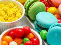 Macaroons and sweets