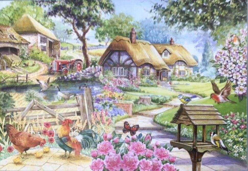 Typowy krajobraz wsi