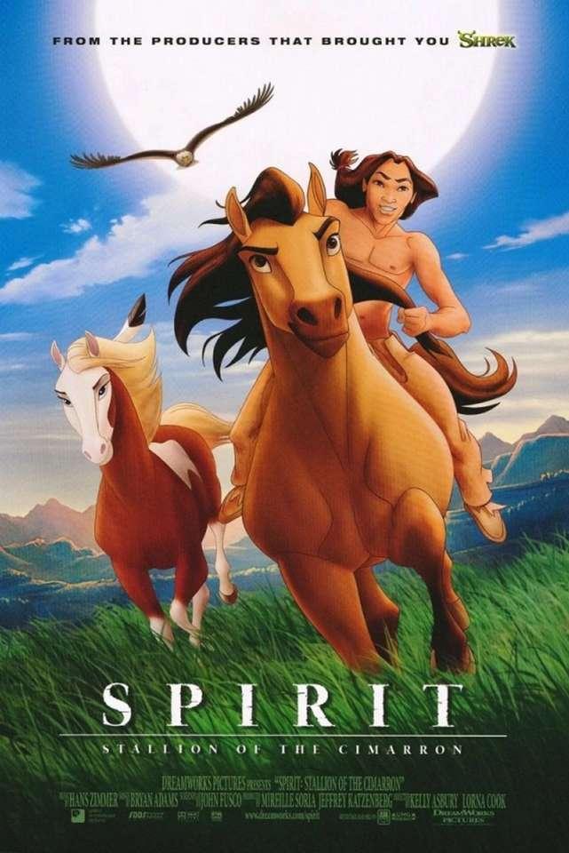 Дух: жребец на филмовия плакат на цимбара 2