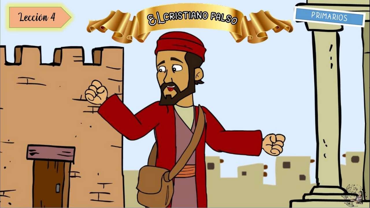 Lekcja 4: fałszywy chrześcijanin puzzle