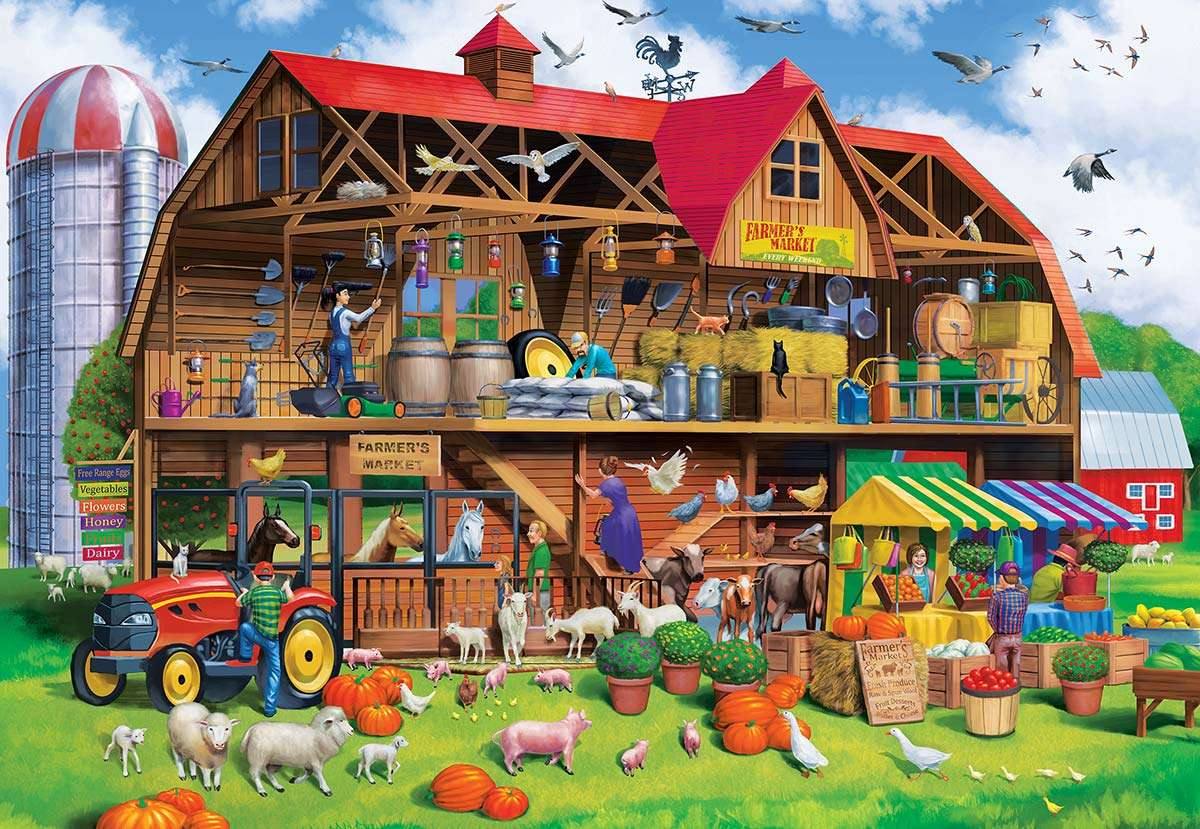 Na farmie jigsaw puzzle