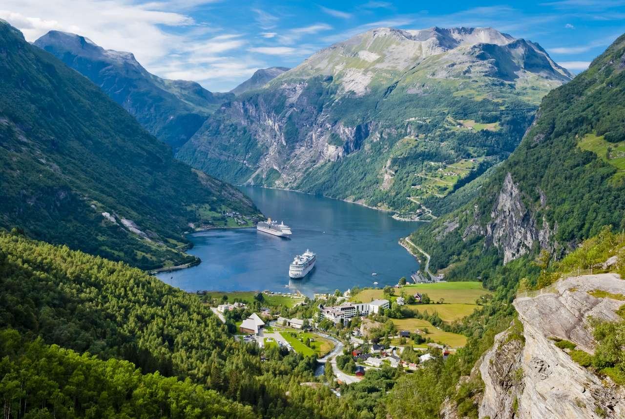 Fiorde de Geiranger, Noruega