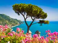 Amalfi Coast with Gulf of Salerno