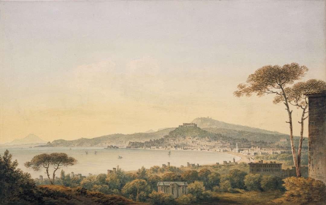 szigetfestmény