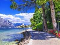 Jezioro Garda puzzle