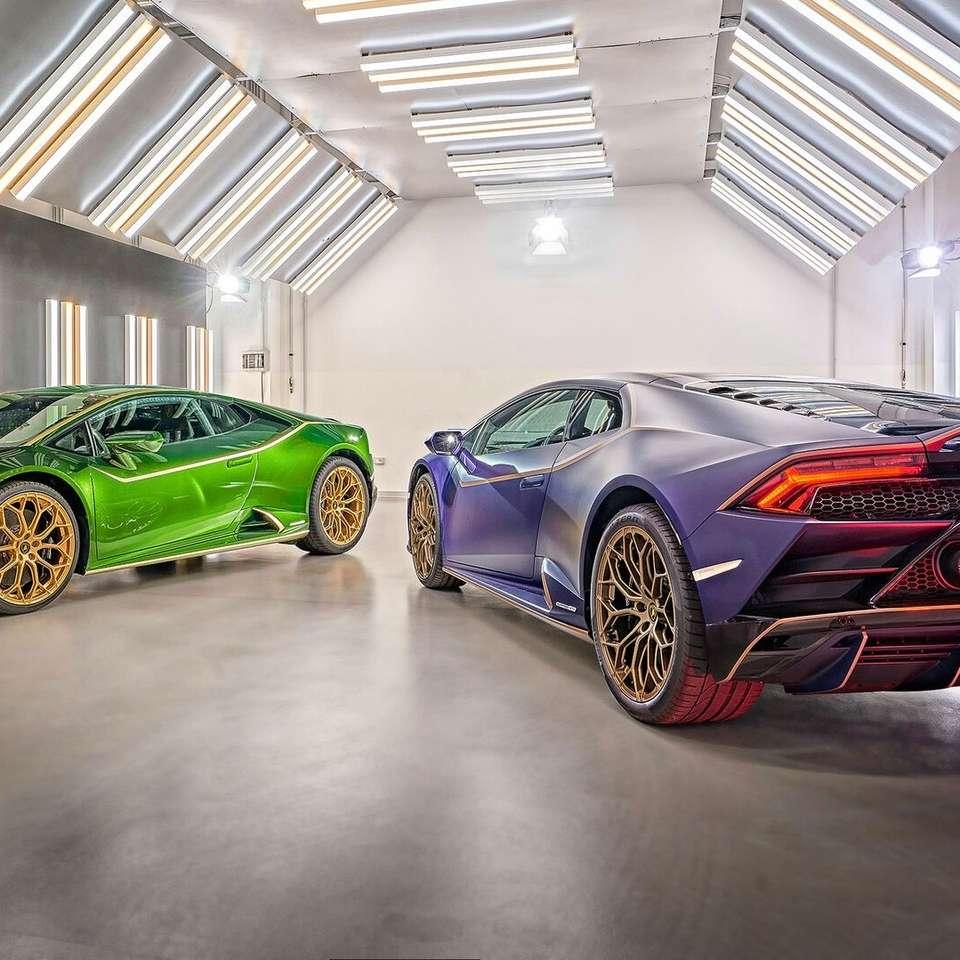 Zwei Lamborghini.