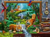 Tigers in their own paradise