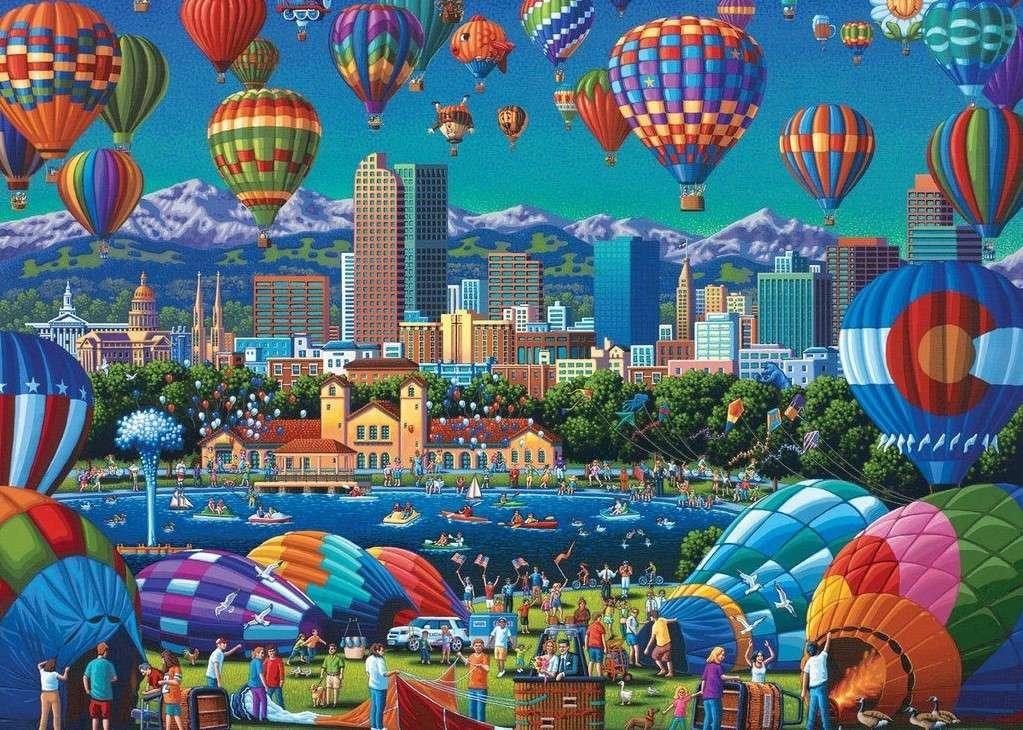 Festival dei voli in palloncini