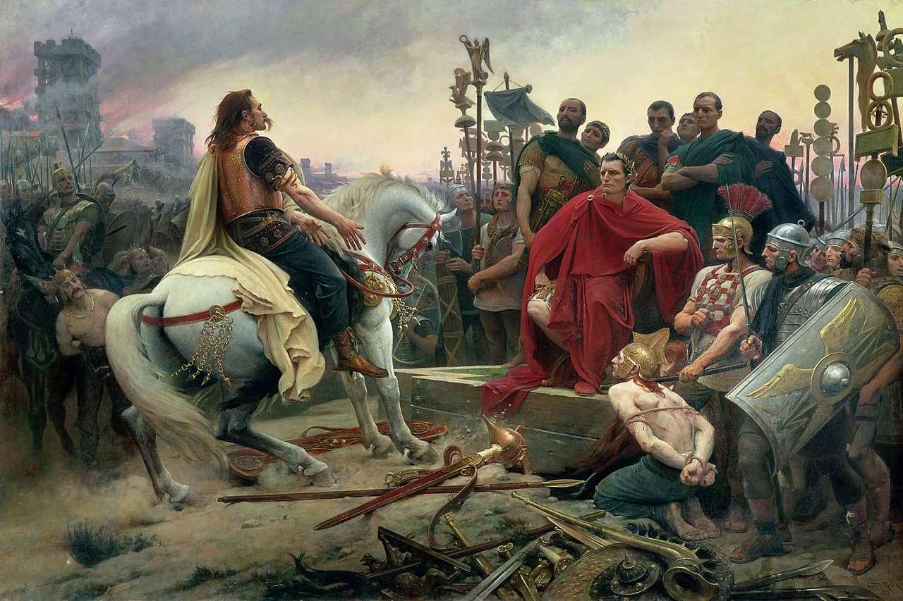 Vercingetorix παραδίδει στο Julio Cesar