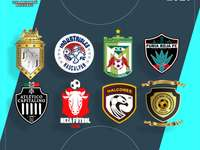 Mexikanische Fußballliga. Online-Puzzle
