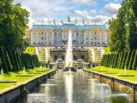 Grand Cascade of Peterhof Palace