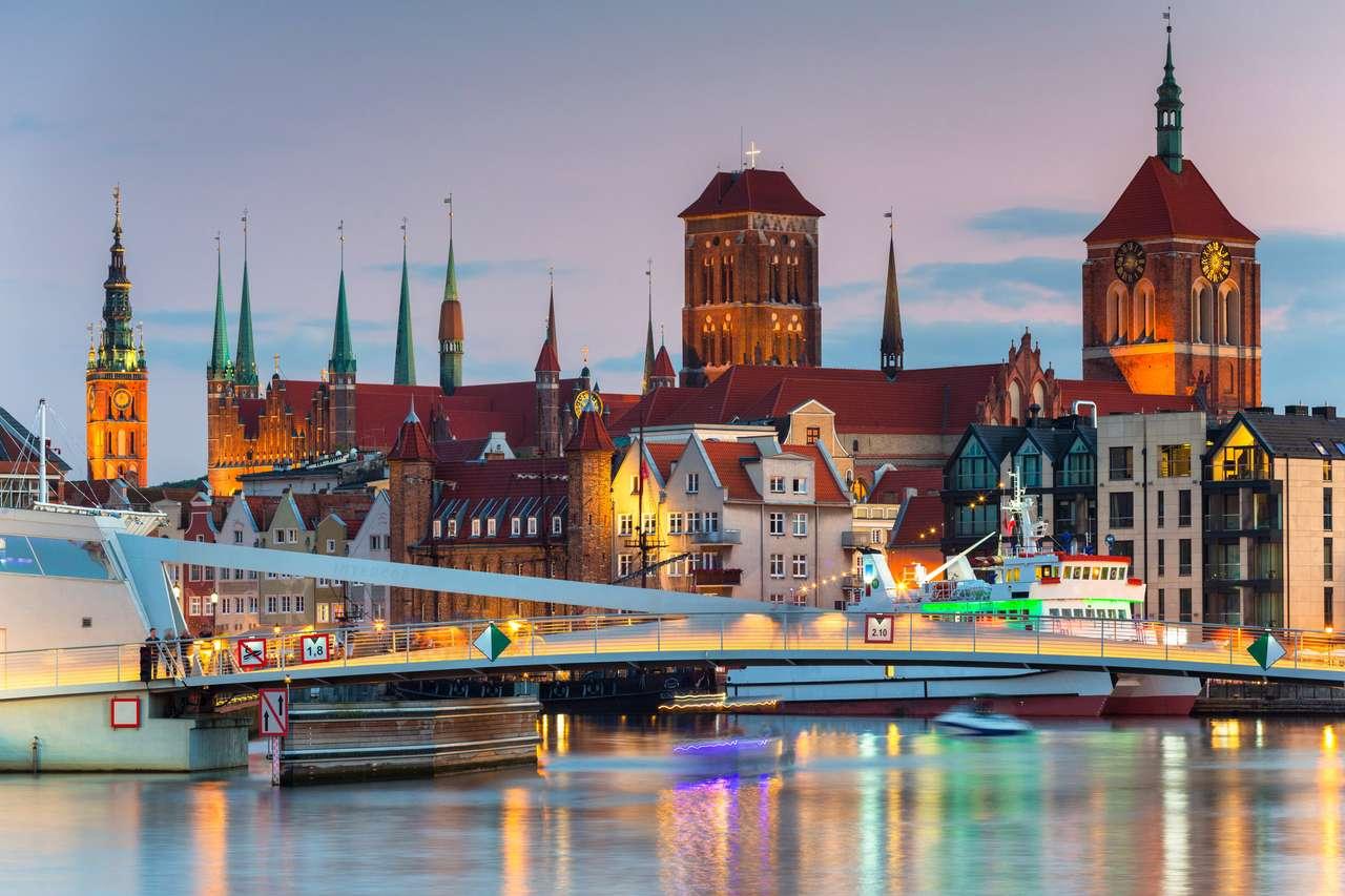 Stare Miasto w Gdańsku puzzle