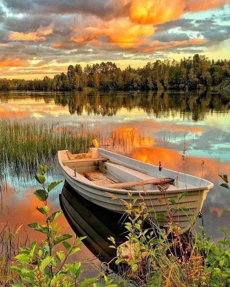 Lake landscape jigsaw puzzle