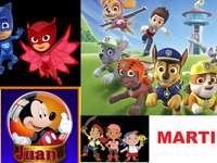 JUAN MARTIN PUZZLE online puzzle