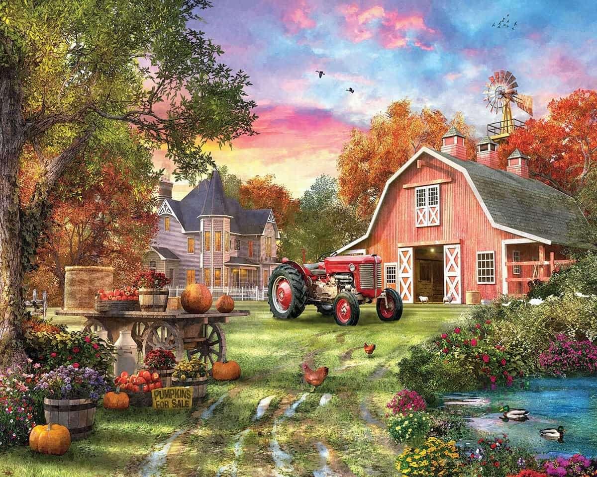 Farm online puzzle