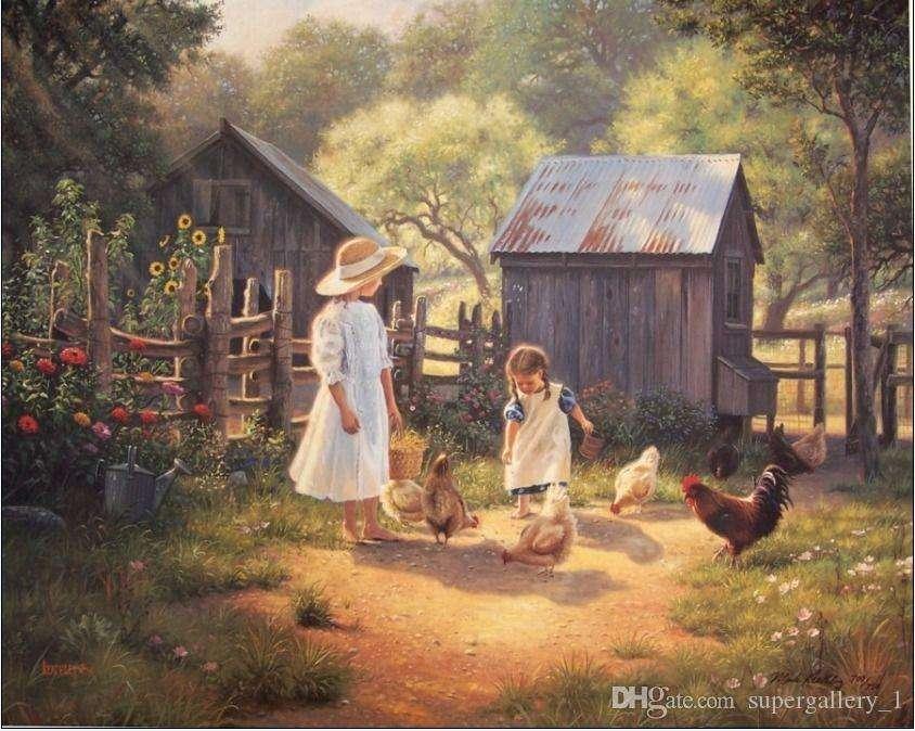 Old farm puzzle