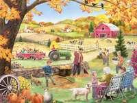 Trabajo agrícola en el campo