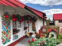 Zalipie festett falu