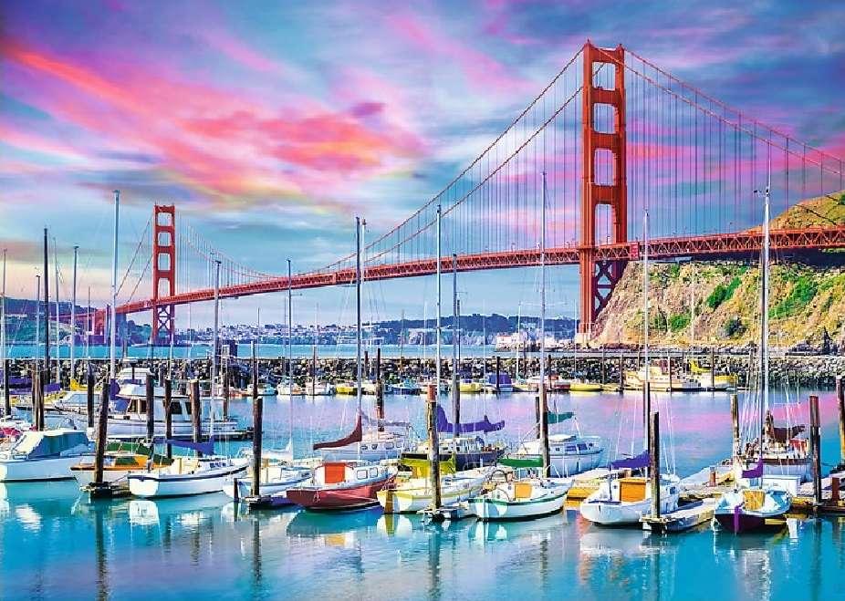 Σαν Φρανσίσκο. παζλ