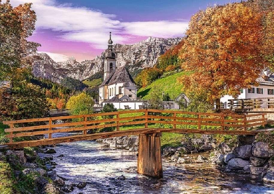 Baviera en el otoño.