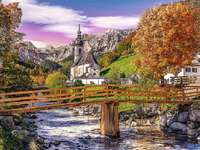 Bayern im Herbst.