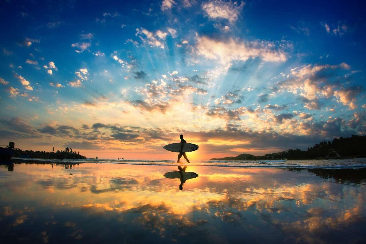 Sun surfer puzzle