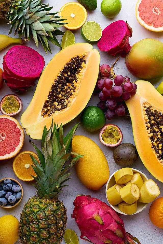 Frutti tropicali puzzle