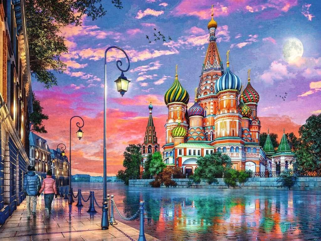 Russland. Moskau.