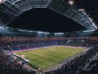 stadion piłkarski puzzle