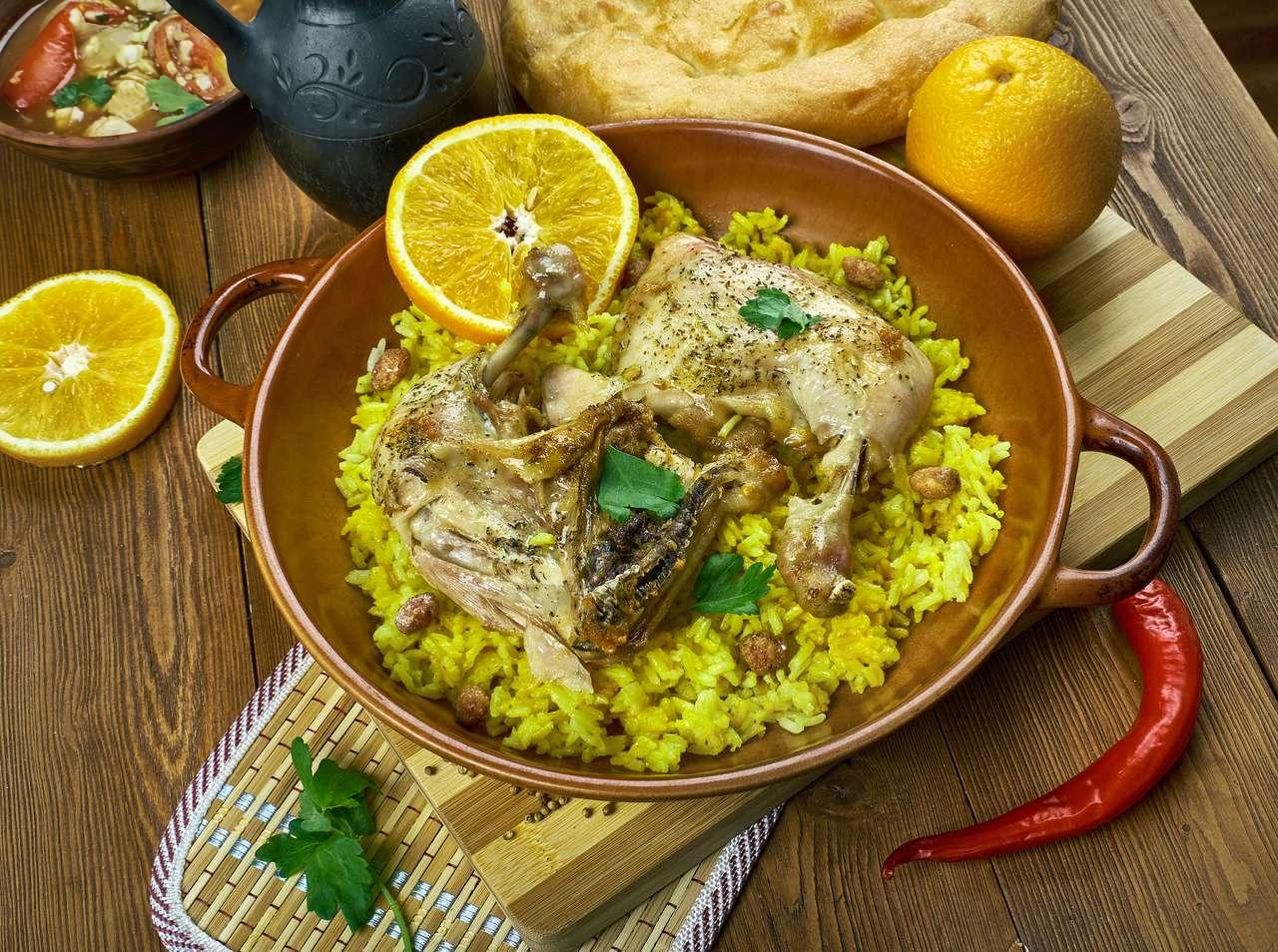 Cocina árabe - Djaj Fouq El-Eish