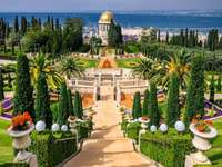 Baha'i temple in Israel puzzle