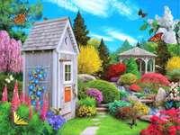 Paesaggio n. 10 - Bellissimo giardino