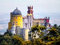Sintra - Franziskanerkloster Puzzle