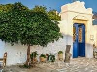 Kythnos Griechische Insel Puzzle
